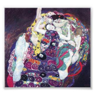 Gustavo Klimt la impresión de la Virgen Foto