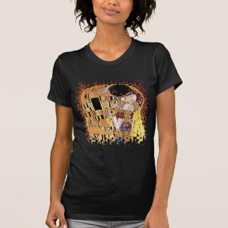 Gustavo Klimt - los amantes de Nouveau del arte Camiseta