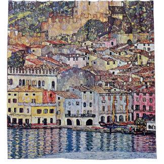 Gustavo Klimt - Malcesine en el lago Garda Italia