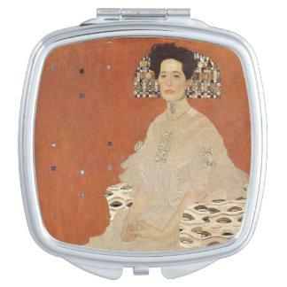 GUSTAVO KLIMT - Retrato de Fritza Riedler 1906 Espejo Maquillaje