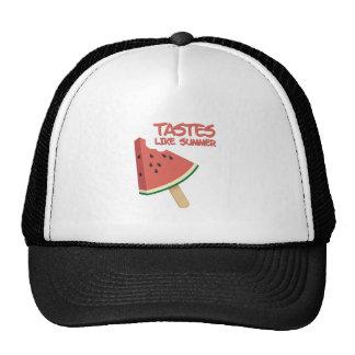 Gusto del verano gorras de camionero