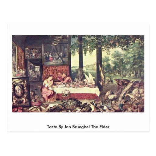 Gusto en enero Brueghel la anciano Postales