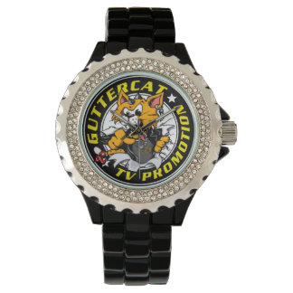 Guttercat TV Reloj