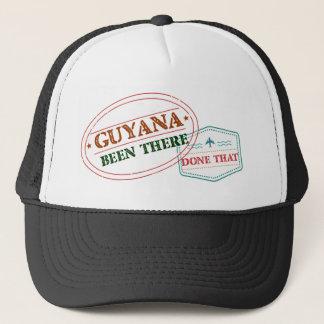 Guyana allí hecho eso gorra de camionero