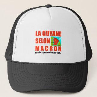 Guyana según Macron es una isla Gorra De Camionero