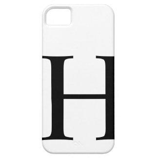 H inicial iPhone 5 Case-Mate cárcasas