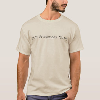 Ha pronunciado JIF - camiseta