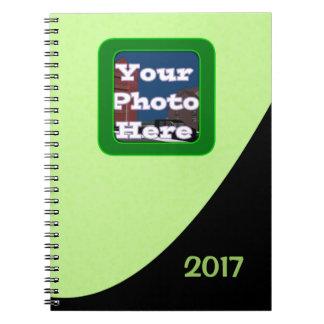 Haba verde cuaderno