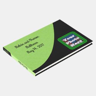 Haba verde libro de visitas