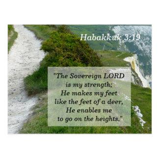 Habakkuk 3 tarjeta de memoria de 19 escrituras