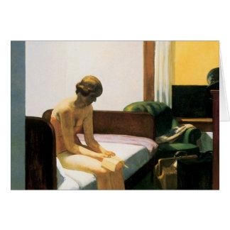 Habitación de Edward Hopper Felicitación