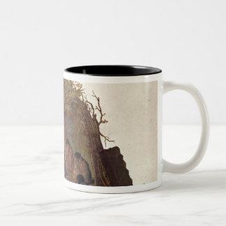 Habitantes de la isla de Terra del Fuego Tazas