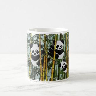 Hábitat del oso de panda taza de café