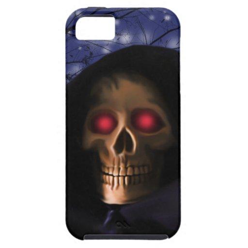 Habla Skull eye iPhone 5 Cárcasas