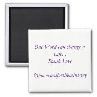 Hable el imán del amor