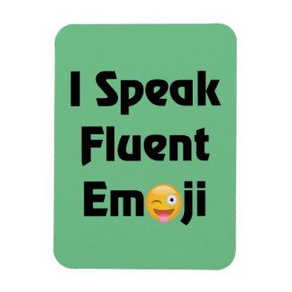 Hable Emoji fluido Imán Flexible
