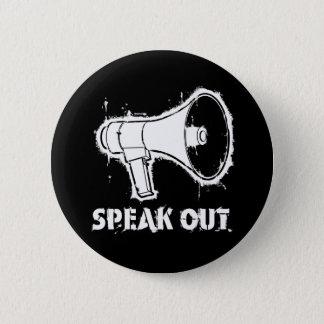 Hable hacia fuera el botón