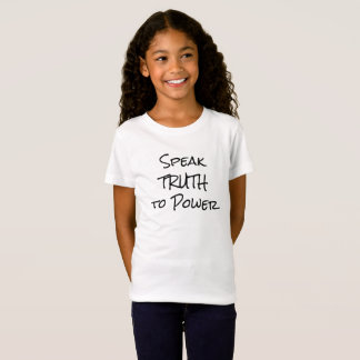 Hable la verdad a la camisa de los niños del poder