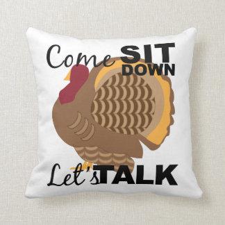 Hablemos la almohada de Turquía
