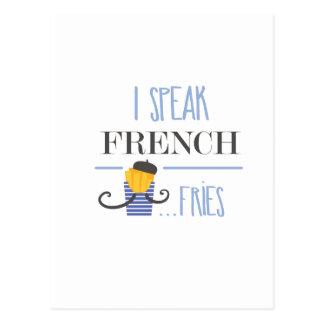 Hablo francés… Fritadas Postal