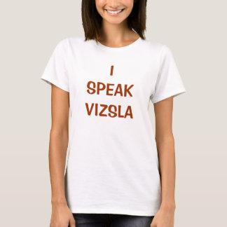 HABLO la camiseta de VIZSLA (w)