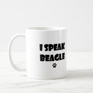 Hablo la taza del beagle
