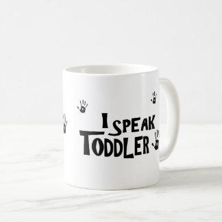 Hablo la taza del niño