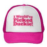¡Habría escogido Duckie! Gorras