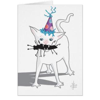 """""""Hacchhy Ngircchhgay""""… Tarjeta de cumpleaños (en"""