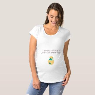 Hace a este bebé me hacen el FAT de la mirada con Camiseta De Premamá