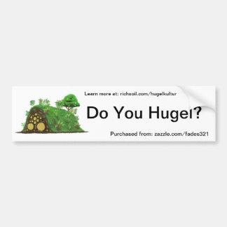 ¿Hace usted Hugel? Pegatina Para Coche