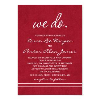 Hacemos el │ de las invitaciones del boda de color