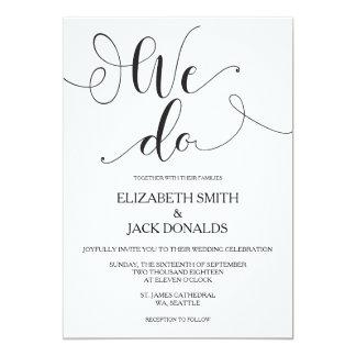 Hacemos la tarjeta de la invitación del boda -