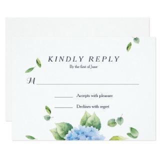 Hacemos la tarjeta de RSVP del jardín del Invitación 8,9 X 12,7 Cm