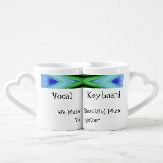 Hacemos las tazas del amante hermoso de la música