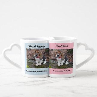 Hacer juego las tazas de Basset Hound