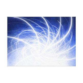 Haces eléctricos - impresión de la lona