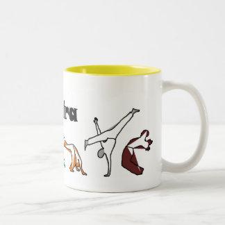 hacha de la tecnología del capoeira del té de chai taza