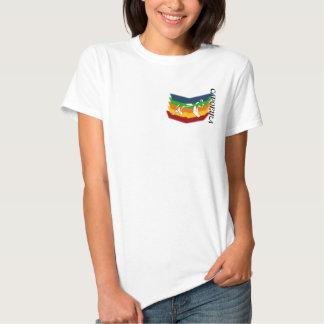 hacha el Brasil de los artes marciales del Camisetas