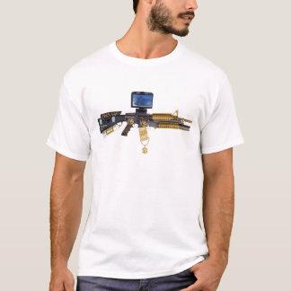 hacia fuera ejercido de chulo M-16 Camiseta