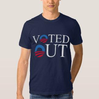 HACIA FUERA VOTADA camiseta de anti-Obama