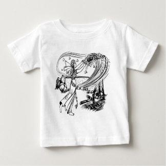 hada-cuentos camiseta de bebé