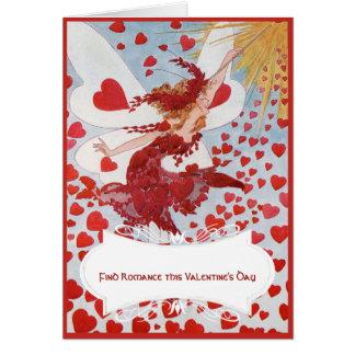 Hada de la tarjeta del día de San Valentín con el