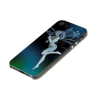 Hada del invierno funda para iPhone 5 incipio feather shine
