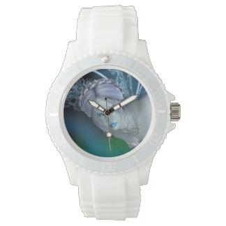 Hada del invierno reloj de pulsera
