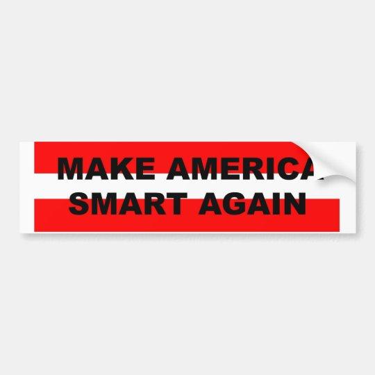 Haga a la pegatina para el parachoques de América Pegatina Para Coche