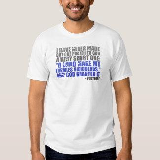 Haga a mis enemigos ridículos camiseta