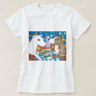 Haga al americano que los terrieres de Pitbull Camiseta