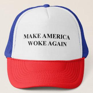 Haga América despertó otra vez el gorra del