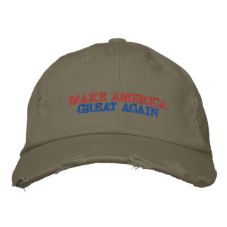 Haga América el CASQUILLO de los grandes otra vez Gorra Bordada